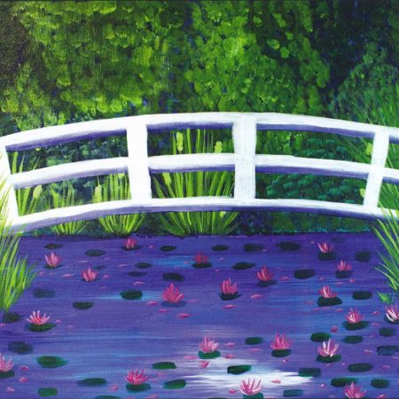 Bridge Over Lilies 16x20
