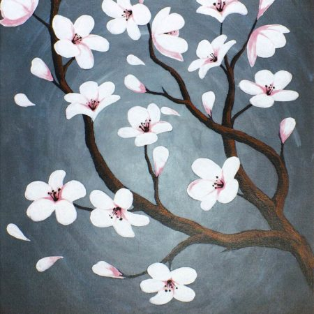Cherry Blossoms 16x20