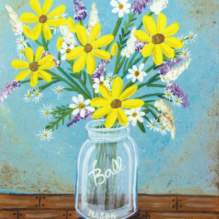 Country Bouquet 16x20