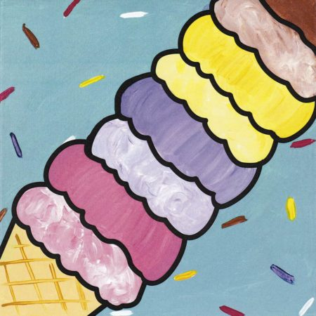 We All Scream For Ice Cream 12x12