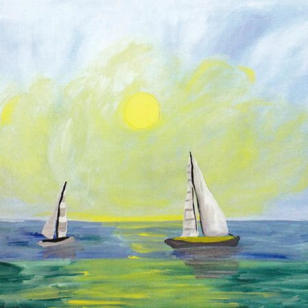 Day at Sea 16x20