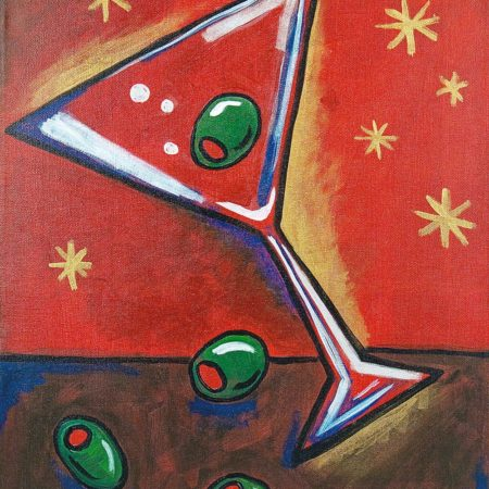 Dirty Martini 16x20