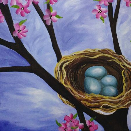 Feather Your Nest 16x20