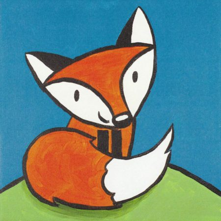 Friendly Fox 12x12
