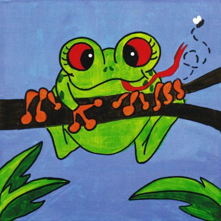 Friendly Frog 12x12