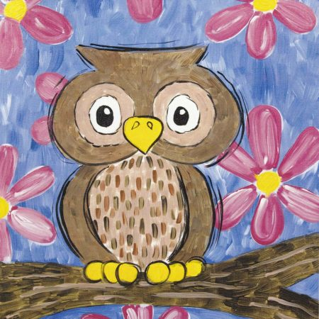 Give a Hoot 16x20