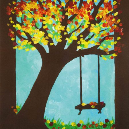 Leaning Tree 16x20