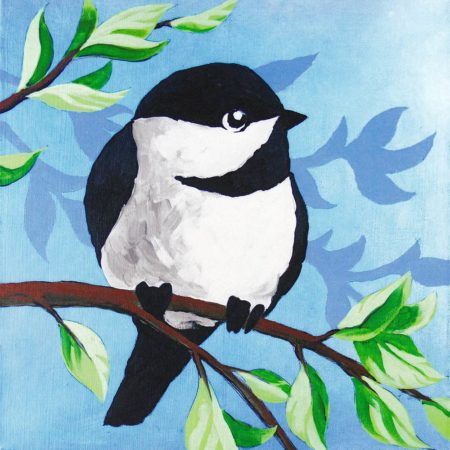 Little Chickadee 12x12