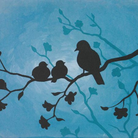 Mother Birds 16x20