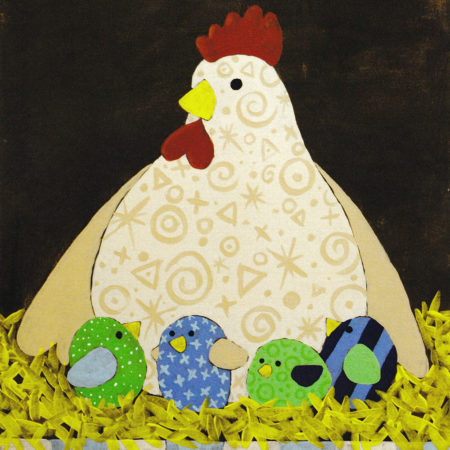 Mother Hen 16x20