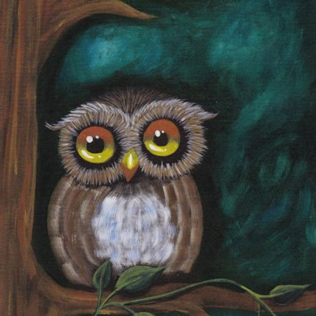 Owl Be Watching 16x20