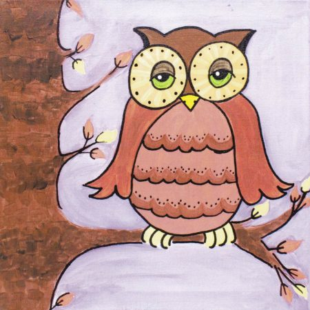 Owl Friend 12x12