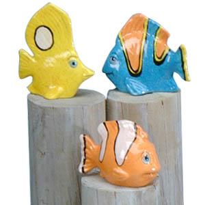 Painted Assorted Fish