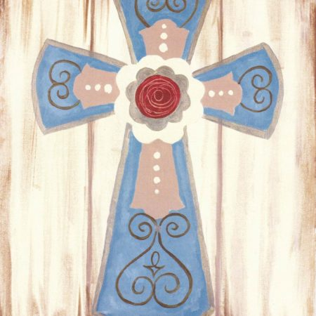 Rustic Cross 16x20