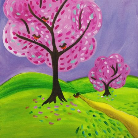 Spring Into Pink 16x20