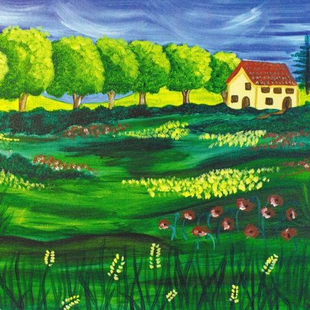 Summers in Tuscany 16x20