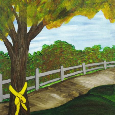 Tie A Yellow Ribbon 16x20