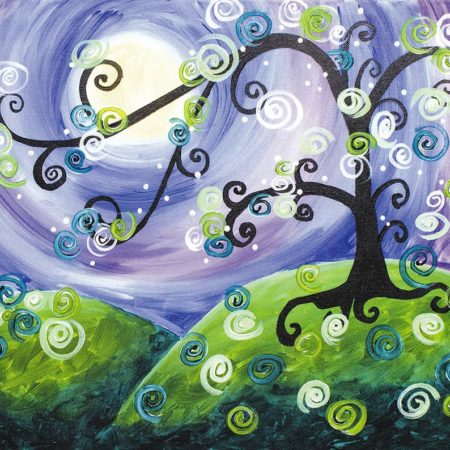 Whimsical Tree 16x20