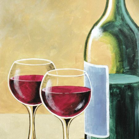 Wine For Two 16x20