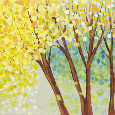 Yellow Maples 16x20