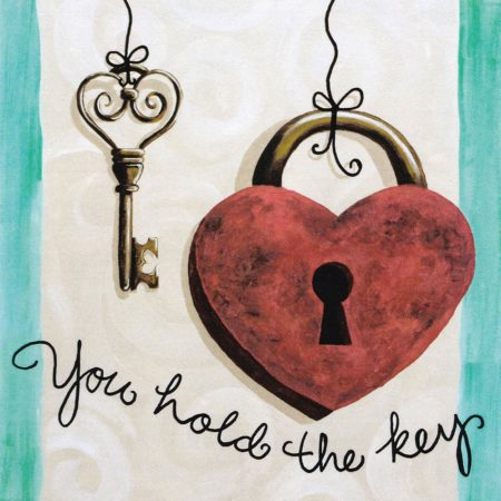 You Hold the Key 16x20