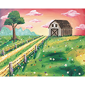 Country Barn 16x20