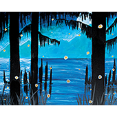Evening In The Bayou 16x20