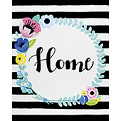 Floral Home Wreath 16x20