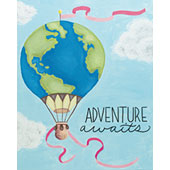 Hot Air Adventure 16x20