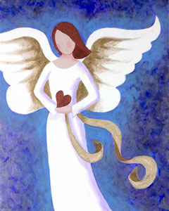 Angel Of Love 16x20