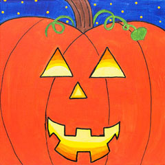 Design A Pumpkin 12x12