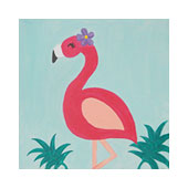 Fancy Flamingo 12x12