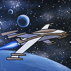 Galactic Fighter 12x12