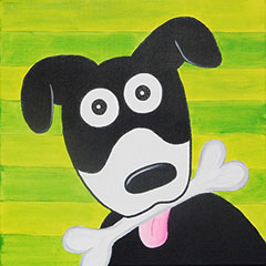 Give A Dog A Bone 12x12