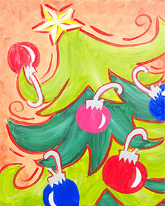 Jingle Tree 16x20