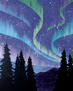 Northern Lights 16x20