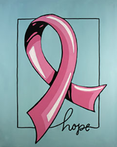 Ribbon Of Hope 16x20