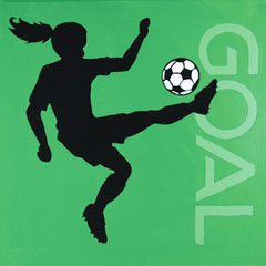 Go For The Goal 12x12