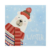 Hello Winter 12x12