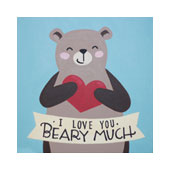 Love You Beary Much 12x12