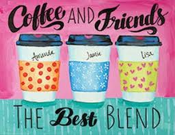 Coffee And Friends 16x20