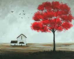 The Red Tree 16x20